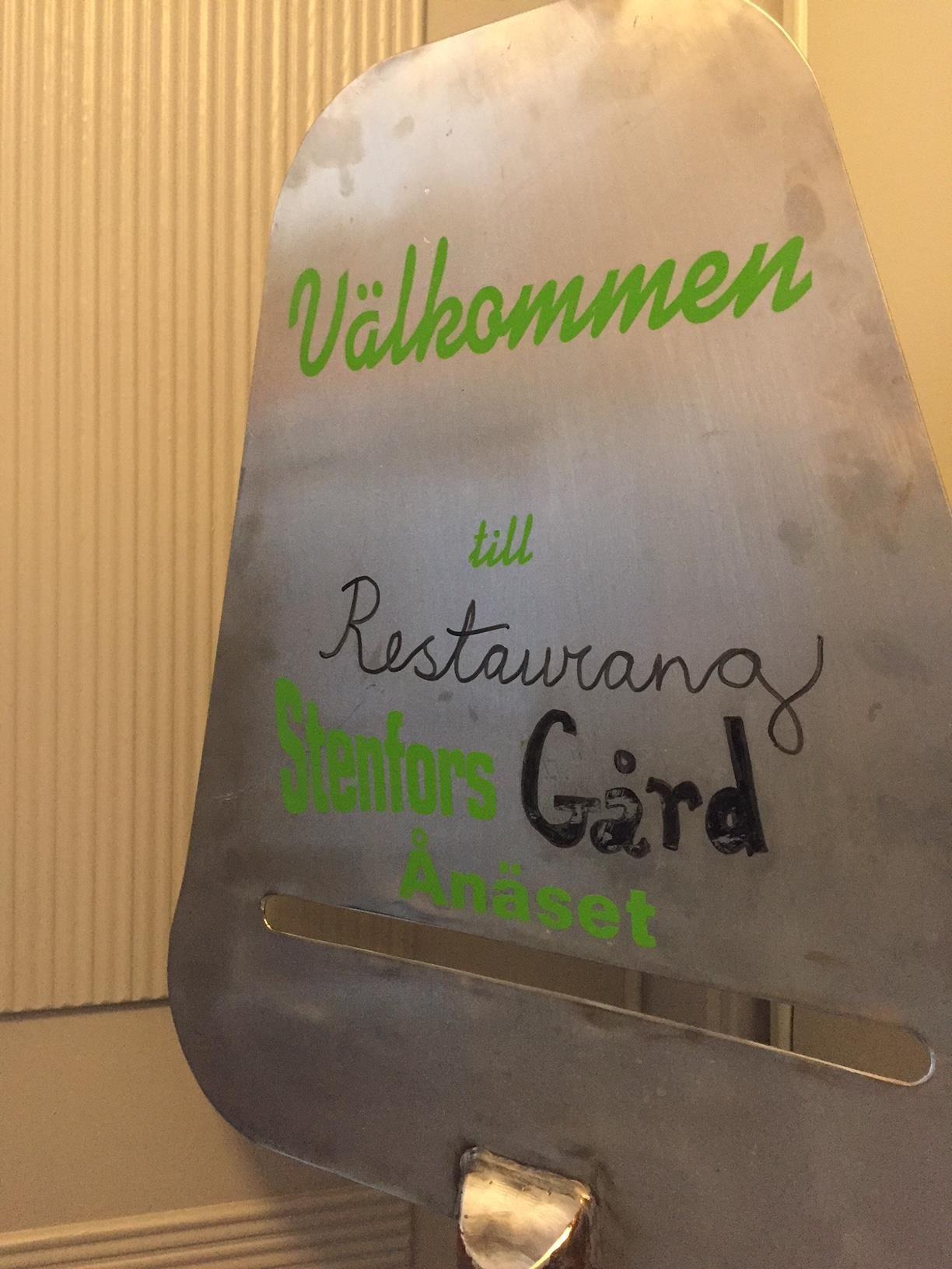 Stenfors Gård restaurant