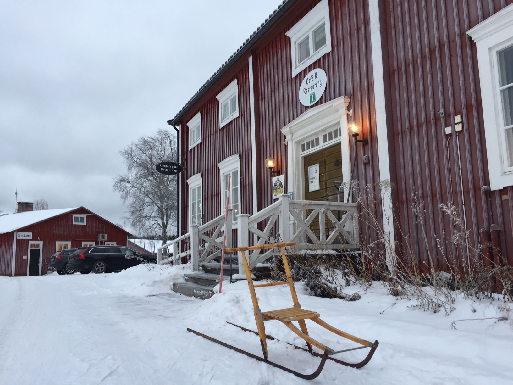 Der Hof Stenfors Gård