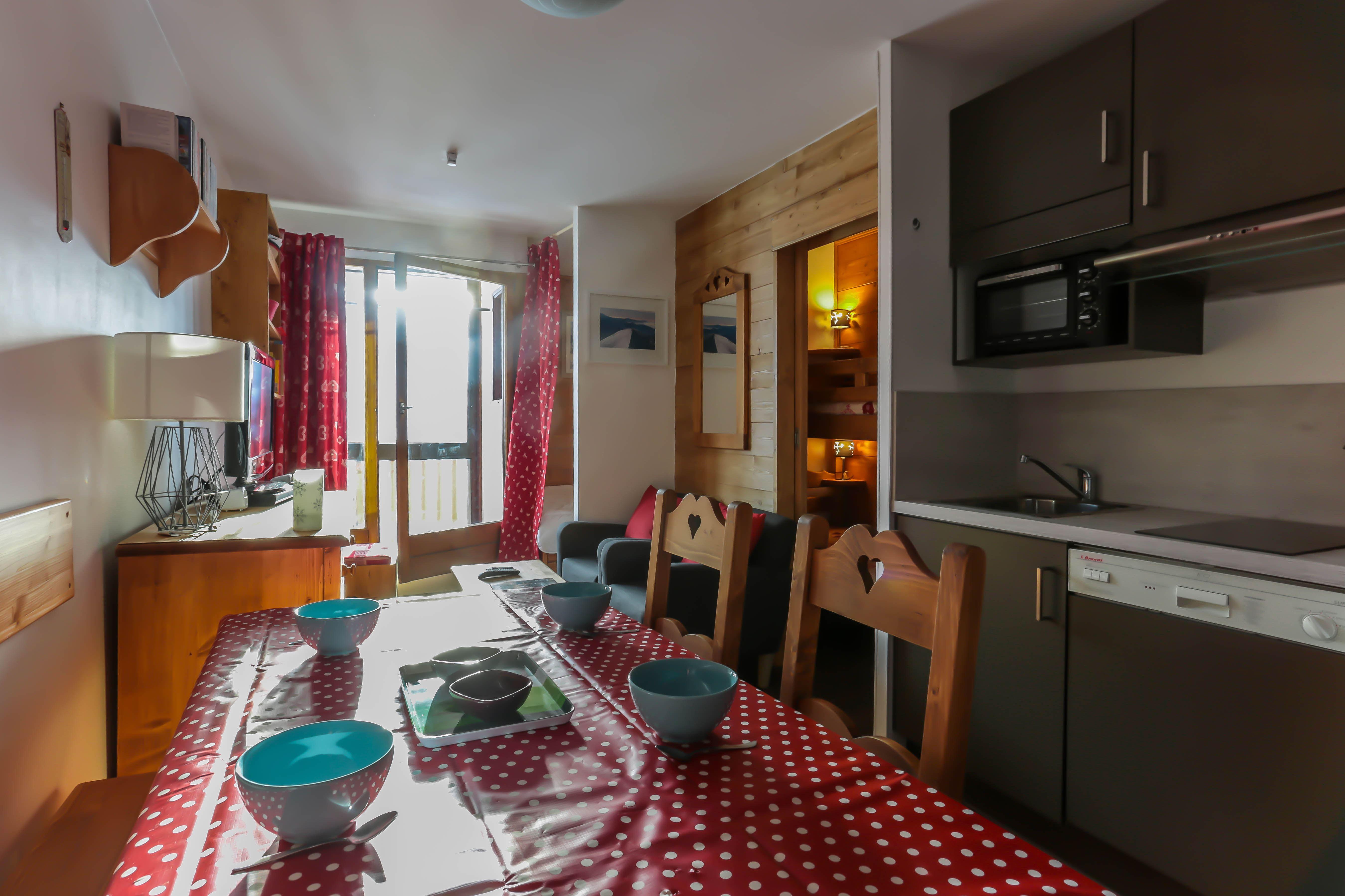 Cimes de Caron 1200 > 2 Rooms + Cabin - 4 Persons - 2 Gold Snowflakes (Ma Clé IMMO)