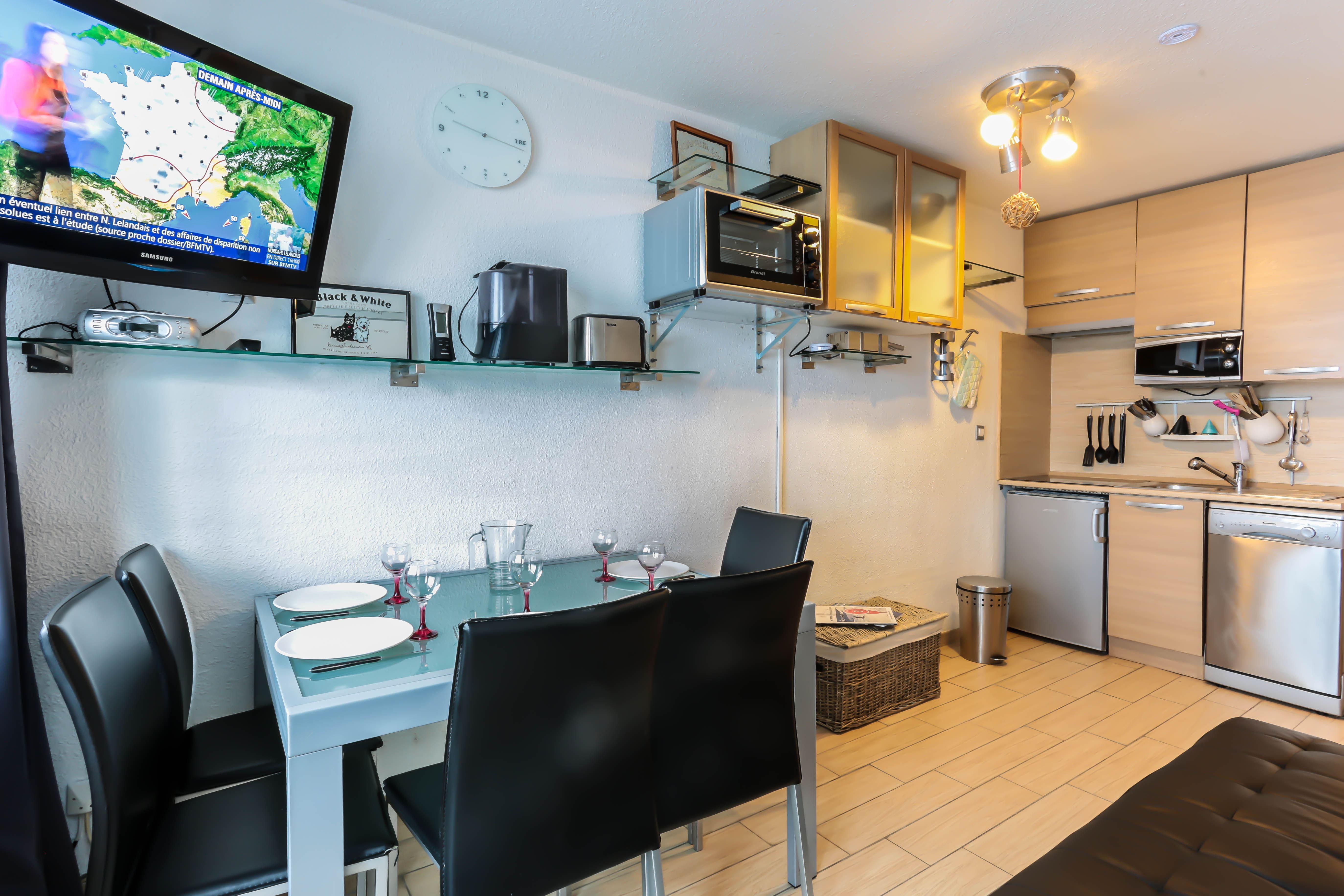 Lauzières 322 > 2 Rooms + Cabin - 4 Persons - 3 Silver Snowflakes (Ma Clé IMMO)