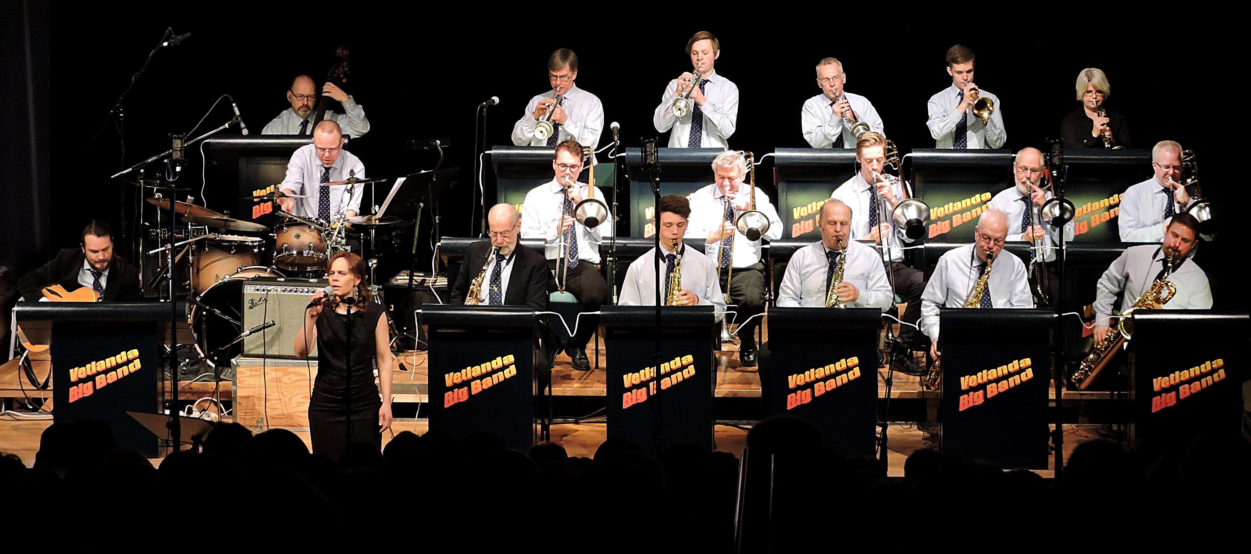 Storbandskonsert med Vetlanda Big Band