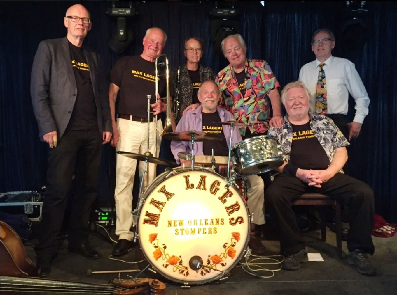 Max Lager's New Orleans Stompers - Folkets Hus Lilla Sal