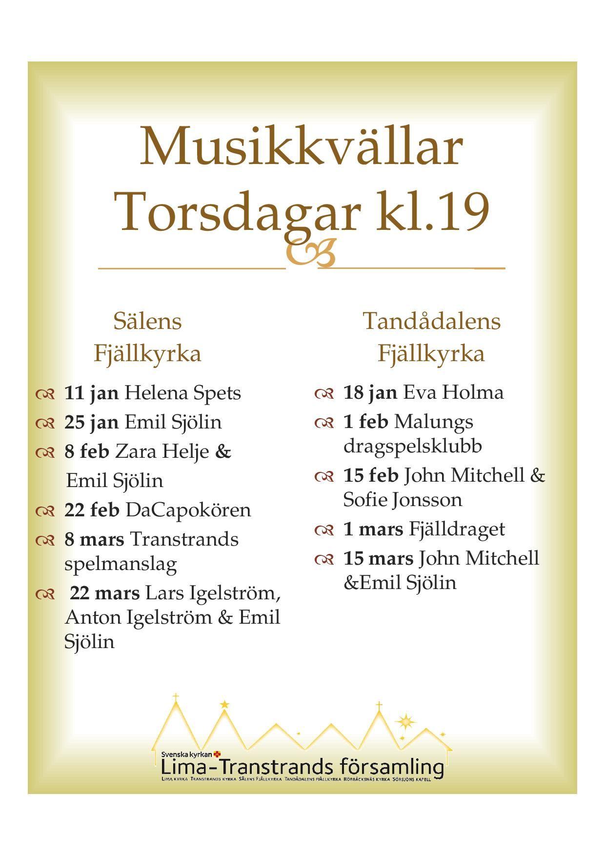 Fjällkyrkorna i Sälen- och Transtrand