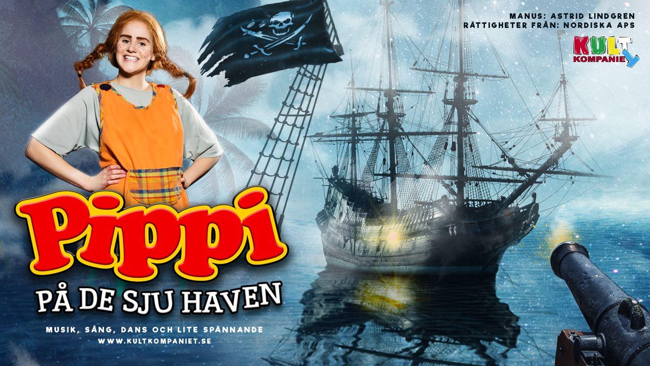 Pippi på de sju haven