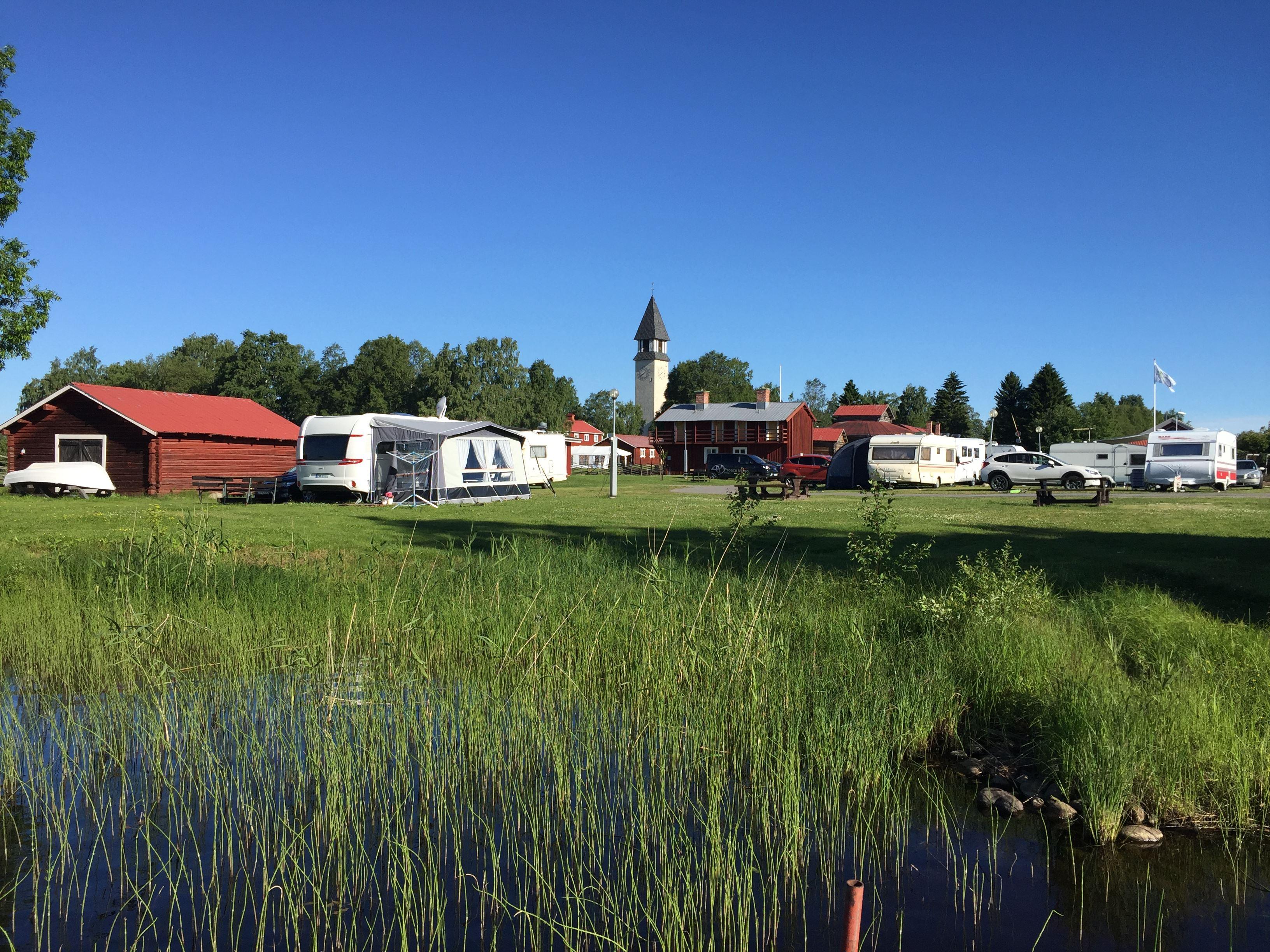 Burträsk Camping - Campingtomt
