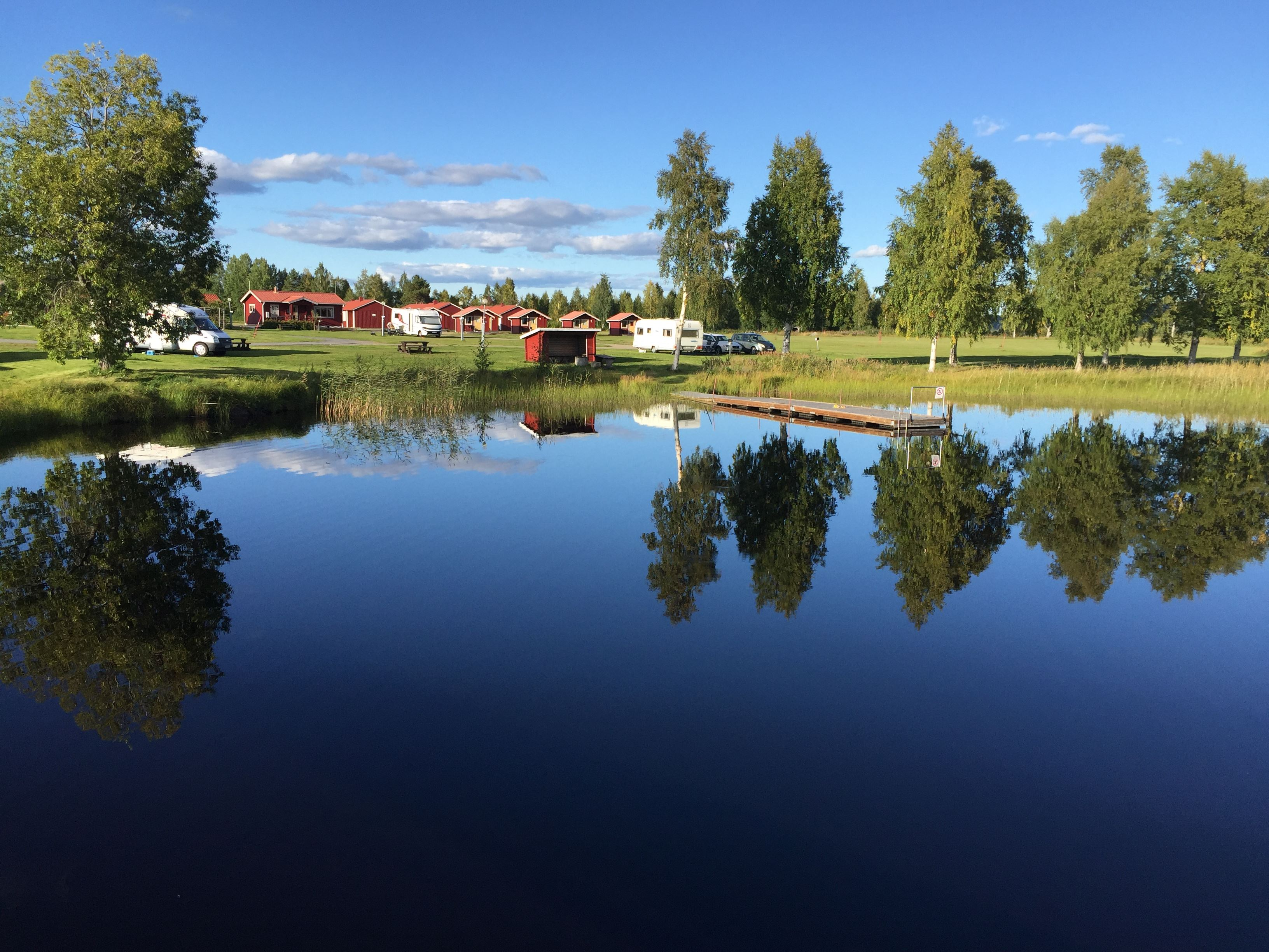 Burträsk Camping - Cottages
