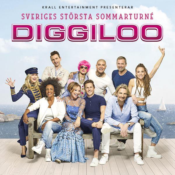© Diggiloo, Bild på artisterna i Diggiloo