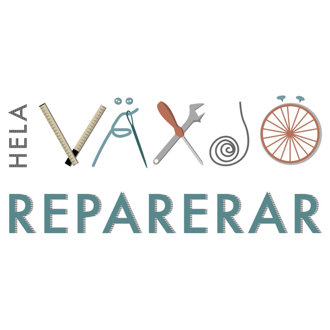 Hela Växjö reparerar
