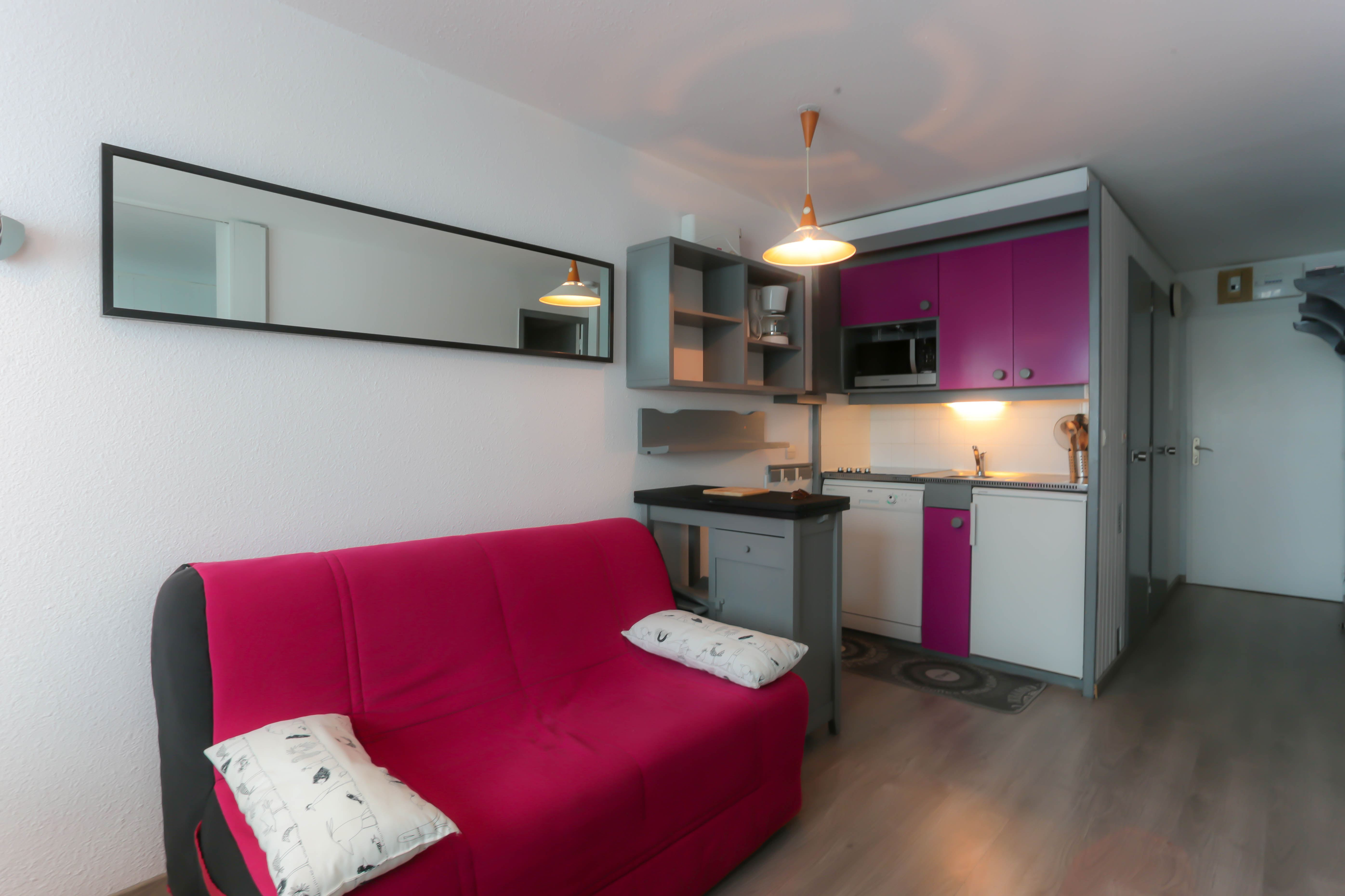 Arcelle 305 > 2 Rooms + Cabin - 4 Persons - 2 Bronze Snowflakes (Ma Clé IMMO)