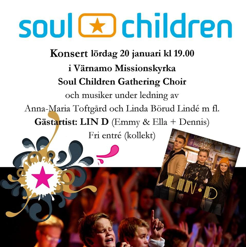 Soul Children Gathering Choir med gästartist LIN D