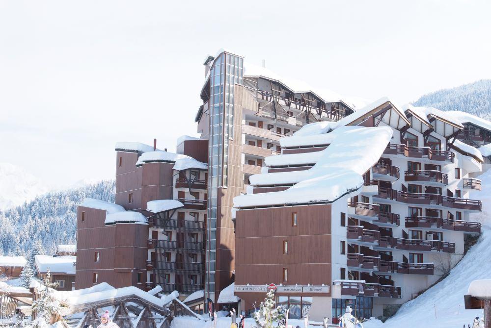 3 pièces, 8 personnes skis aux pieds / Grand Bois B403 (montagne de charme)