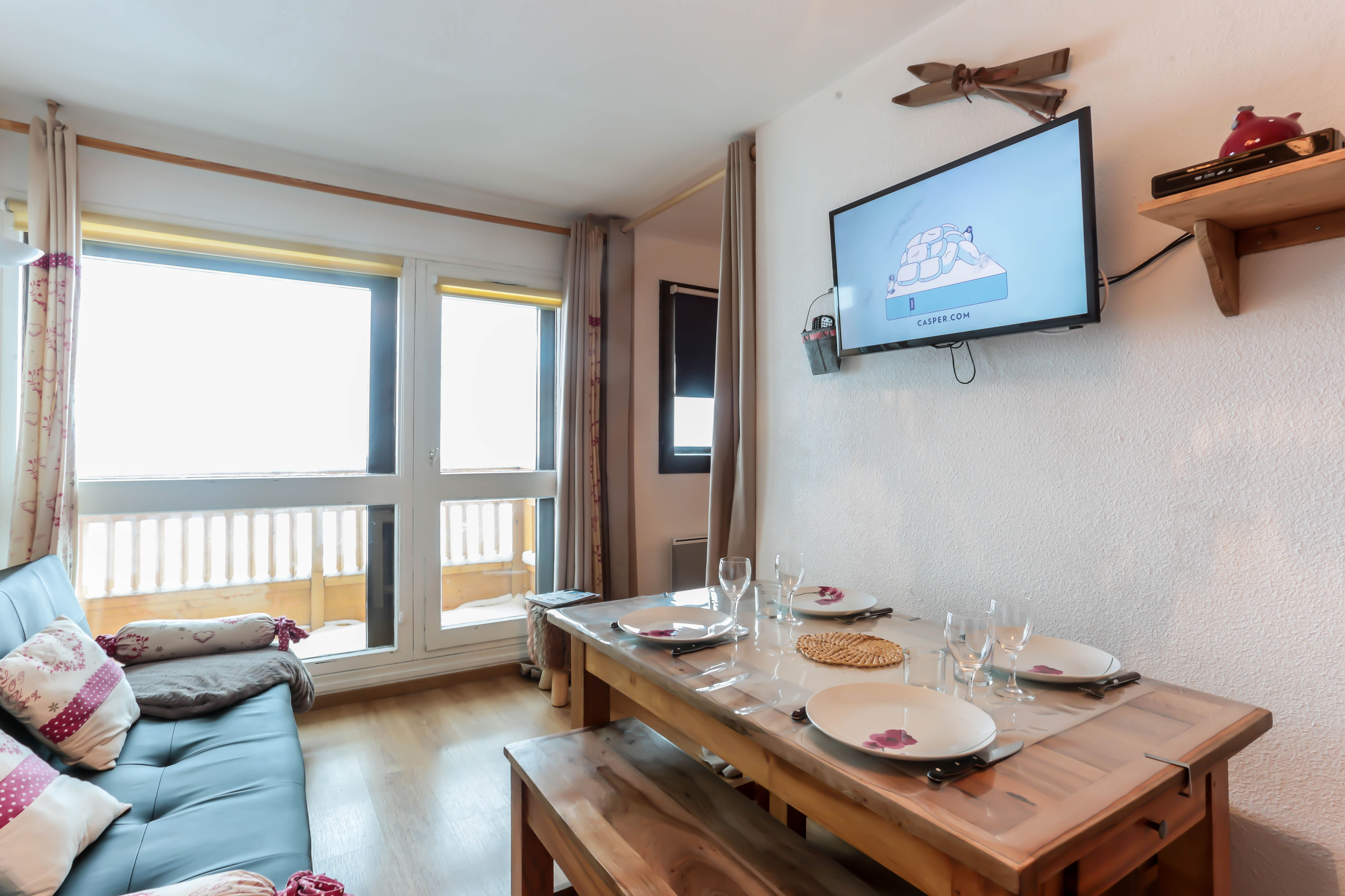 Vanoise 260 > 2 Rooms + Cabin - 4 Persons - 2 Silver Snowflakes (Ma Clé IMMO)