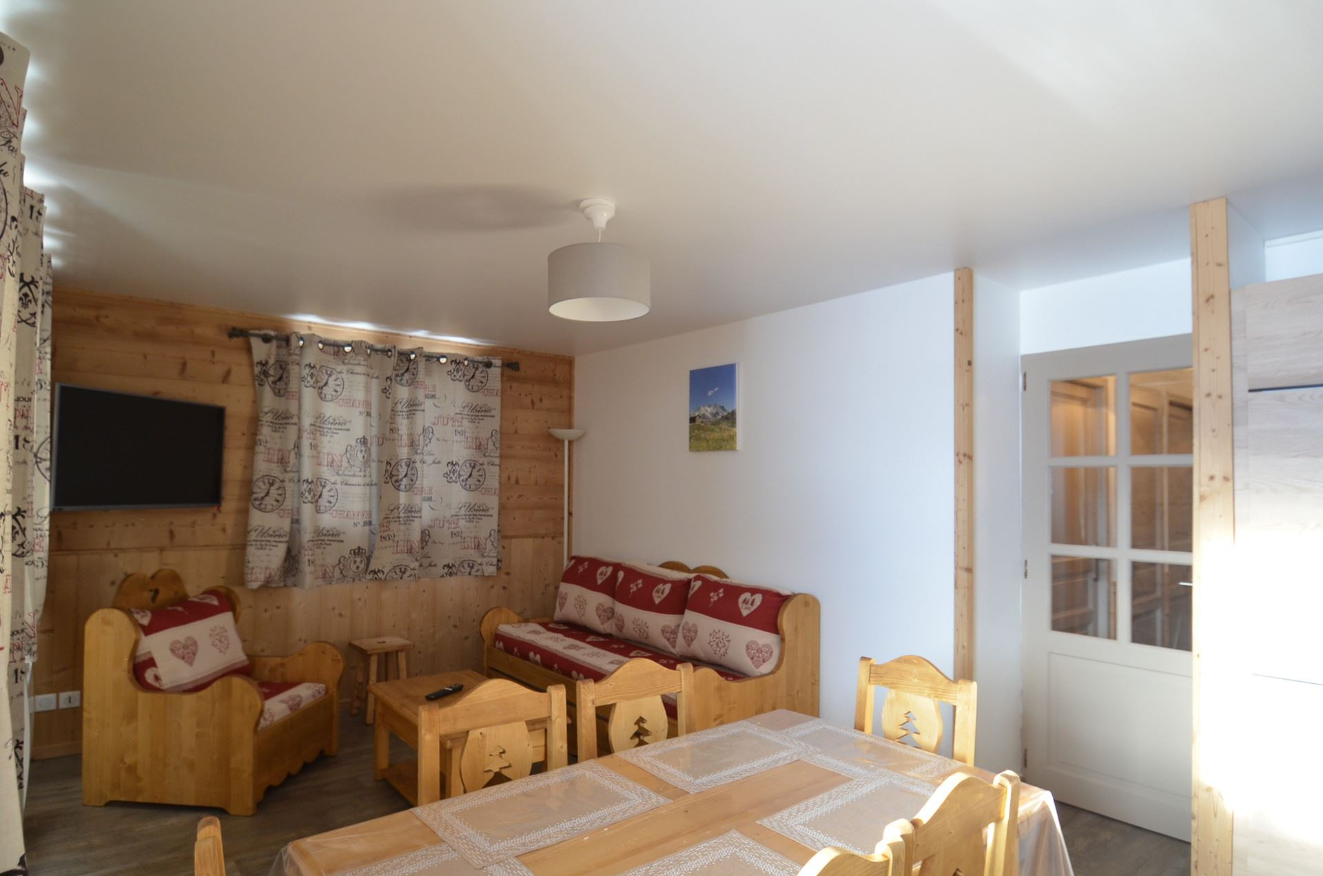 3 rooms 6/8 Pers ski-in ski-out / ARGENTIERE 101