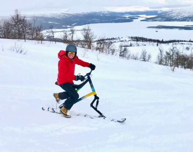 Try mountaincart, fatbike or skibike in Tärnaby