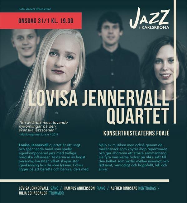 Lovisa Jennervall quartet