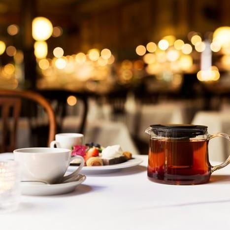 Afternoon Tea på Elite Hotel Knaust