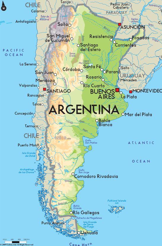 Följ med på en resa till Chile och Argentina