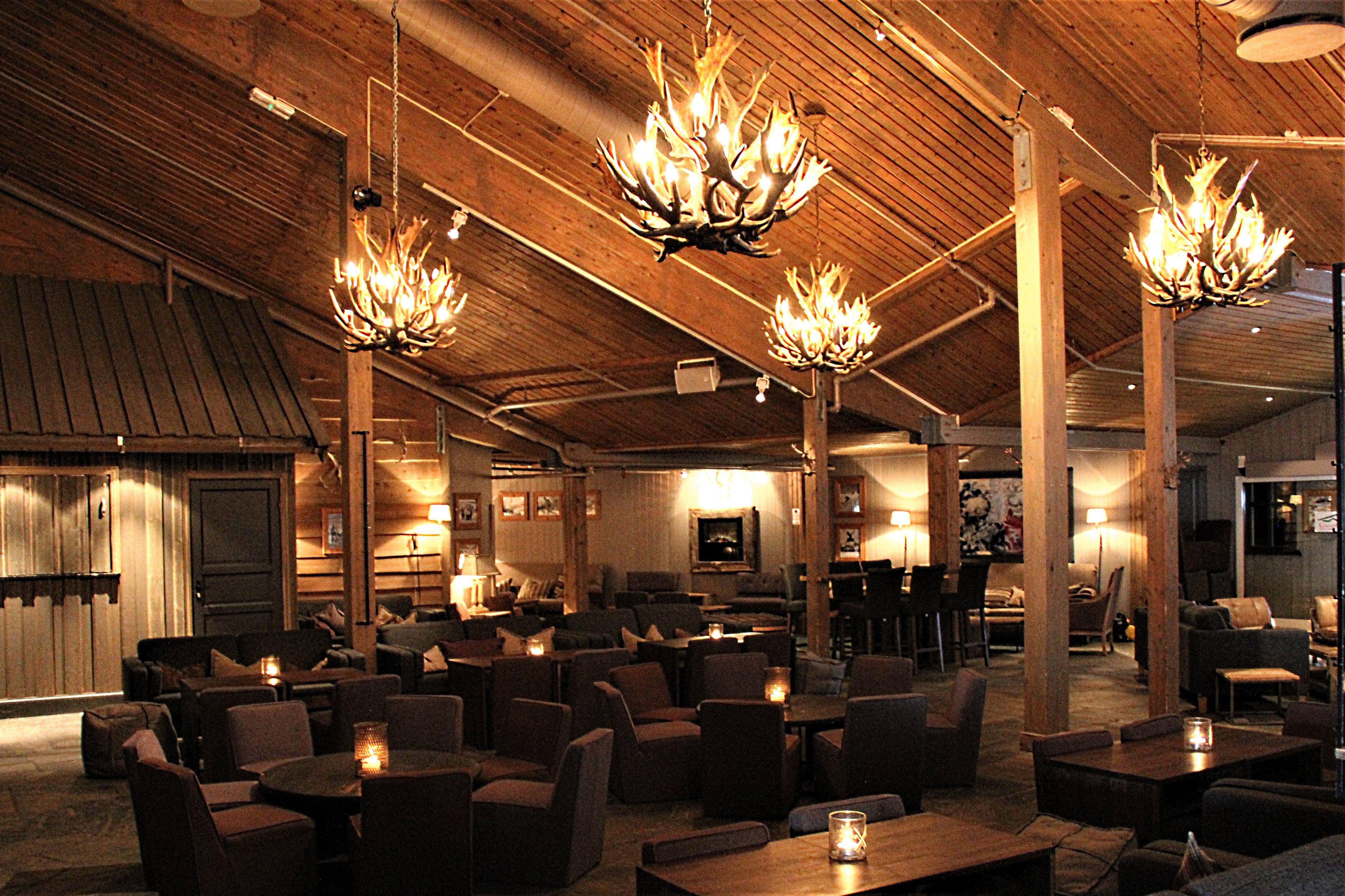 Restaurant at Gaiastova in Hafjell