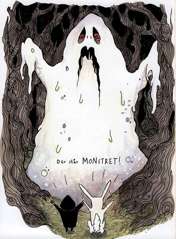 Barnteater - Familjen Kanin och monstret i skogen