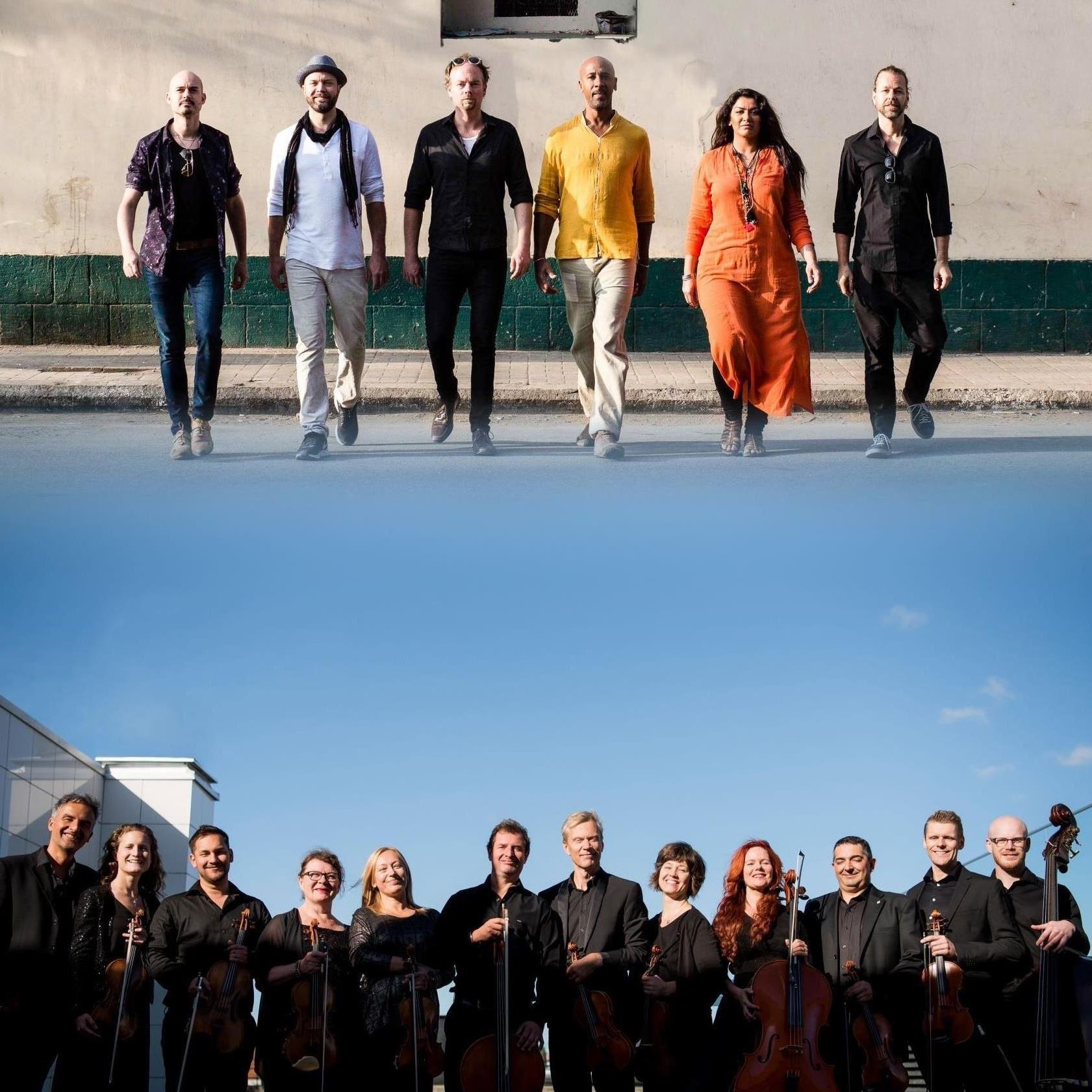 Sabry Kahled, Alexander Mahoud, Musik: Tarabband möter Musica Vitae - i en större värld