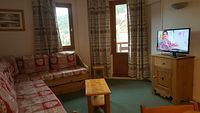 3 rooms, 6 people ski-in ski-out / Grand Bois A606 (mountain)
