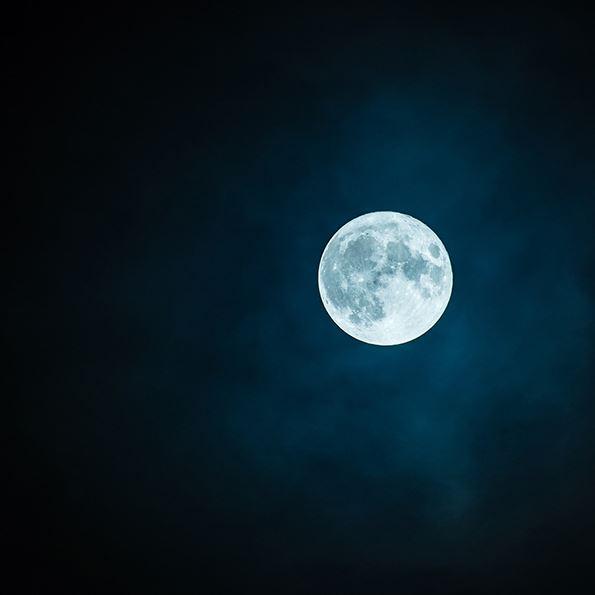 Månskensåkning på Edsken