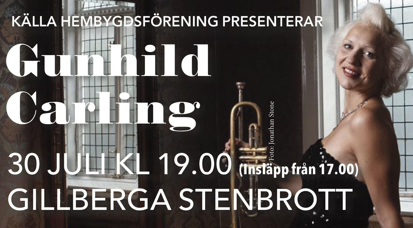 Gunhild Carling i Gillberga Stenbrott