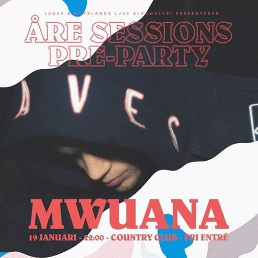Åre Sessions Pre-Party | Live: Mwuana