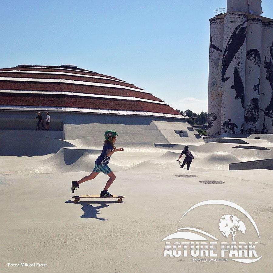 Skateboardskole trin 1 - for nybegyndere i alle aldre