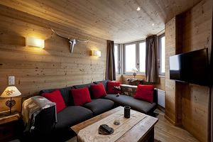 3 rooms, 6 people ski-in ski-out / Grand Bois A604