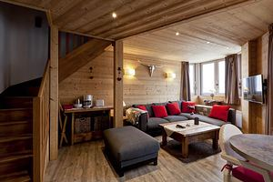 3 pièces, 6 personnes skis aux pieds / Grand Bois A604