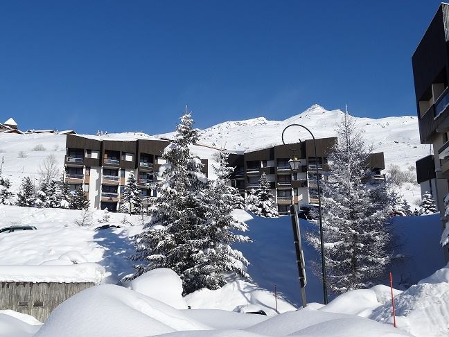 Studio 3 Pers ski-in-ski-out / MELEZES 44