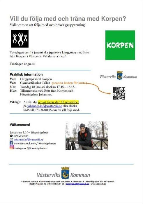 Lättgympa i Västervik