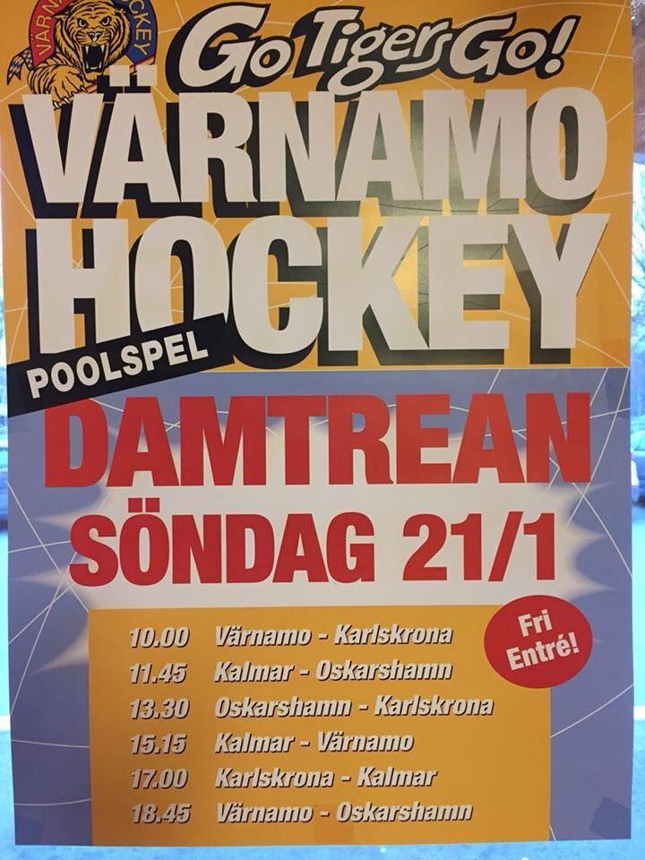Värnamo Hockey Damlag - Poolspel
