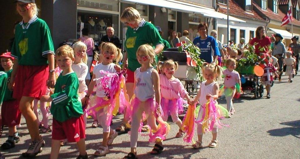 Børne samba optog