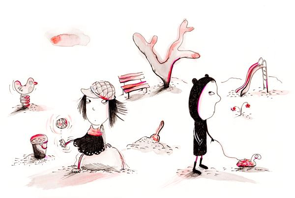 Illustration Maria Jönsson,  © Maria Jönsson, Krumelurteater