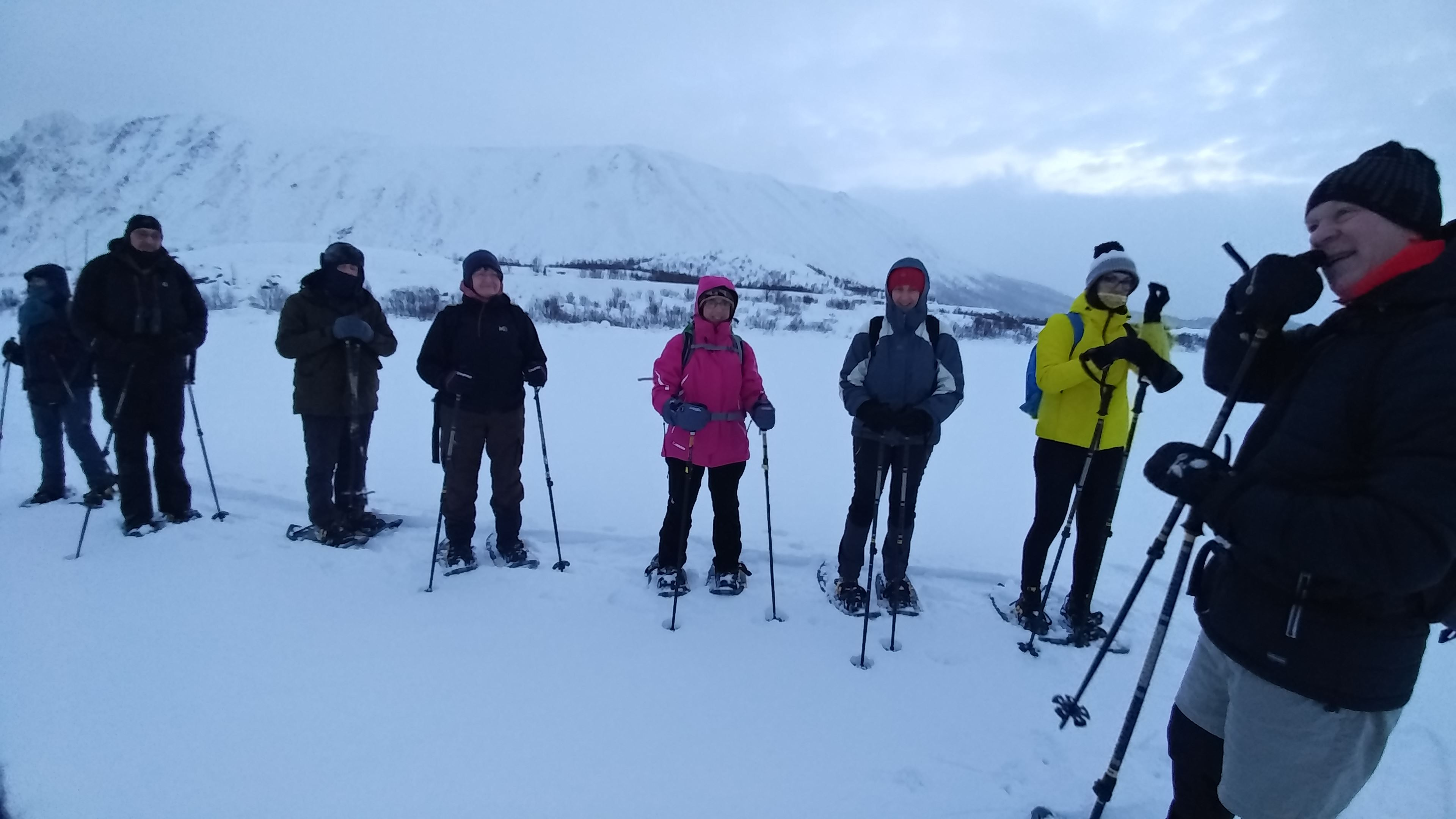 Snow shoe excursion from Andenes