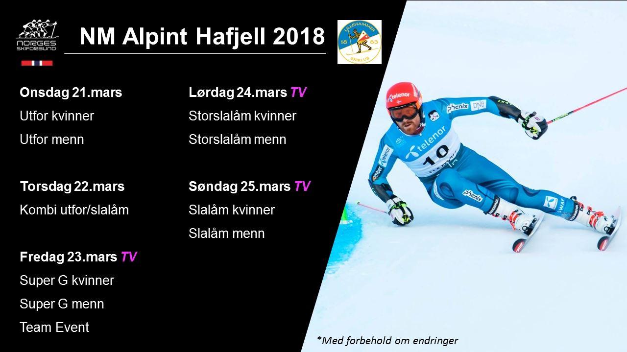 NM Alpint i Hafjell
