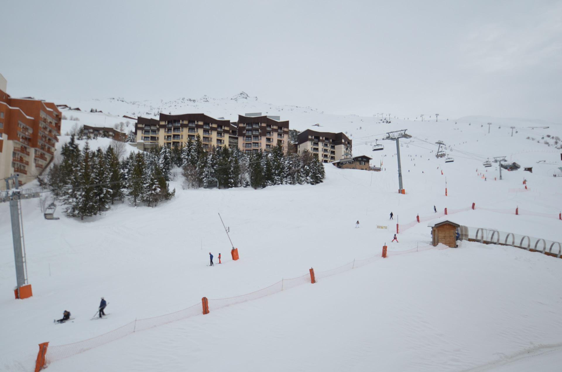 2 Room 4 Pers ski-in ski-out / Aconit 504