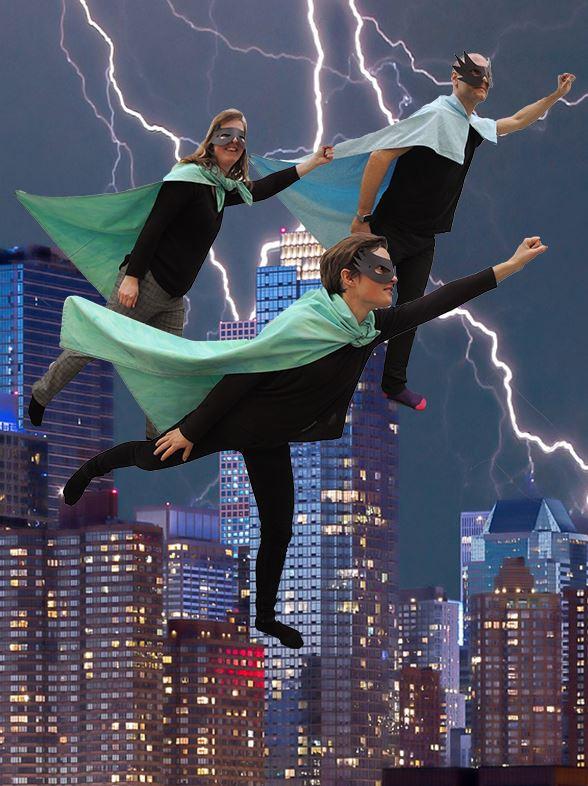 Superhjälteworkshop, från 8 år