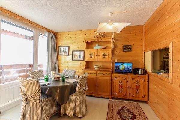 Roc de Péclet II 16 > Apartment + Cabin - 5 People - 2 silver Snowflakes (Ma Clé IMMO)