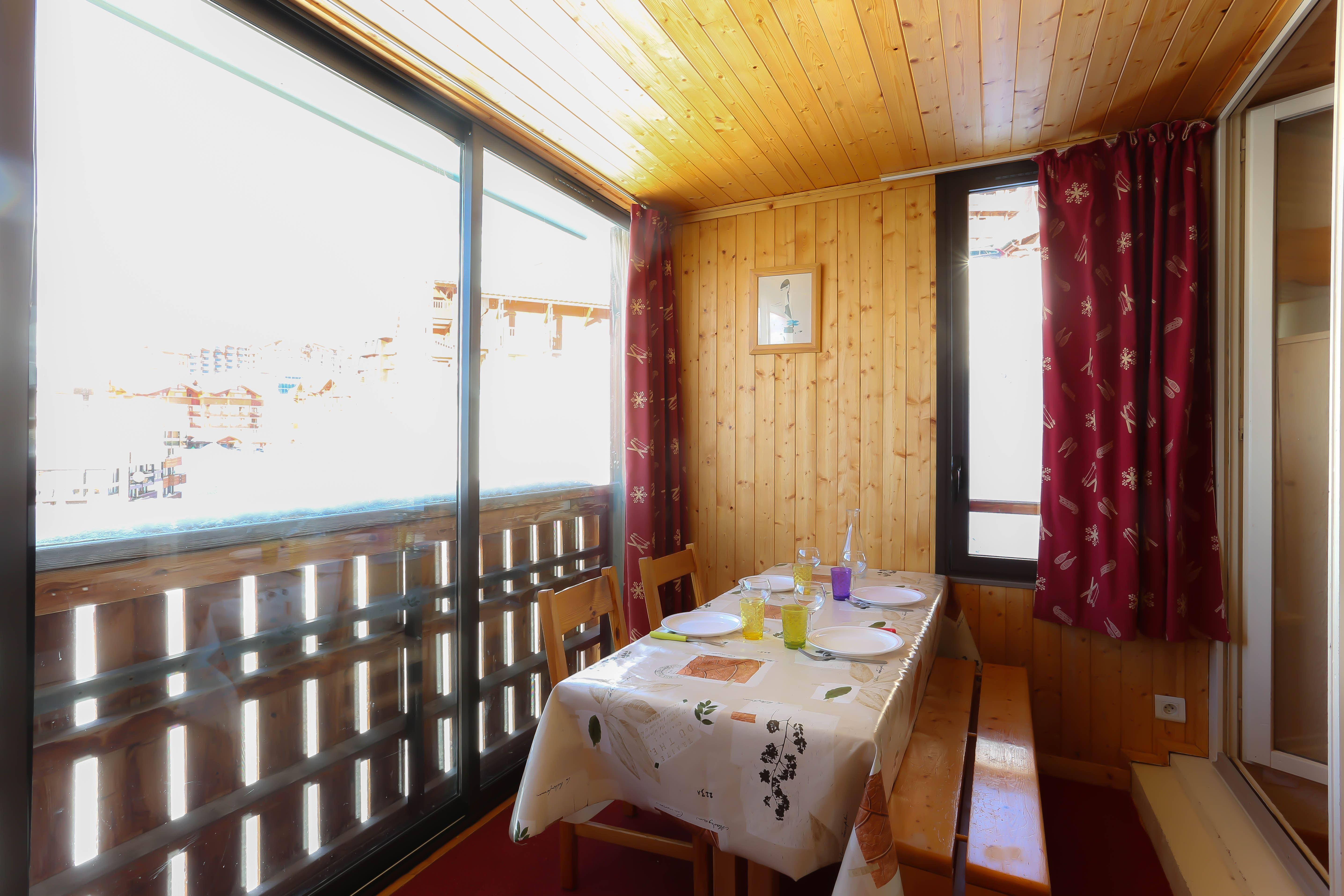 Sérac E7 > 1 Room + Veranda + Alcove - 4 Peoples - 2 Silver Snowflakes (MCI)