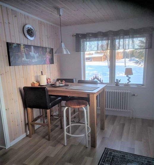 Vasaloppet Vinter. Privathus M279 Nusnsäs bygata, Nusnäs