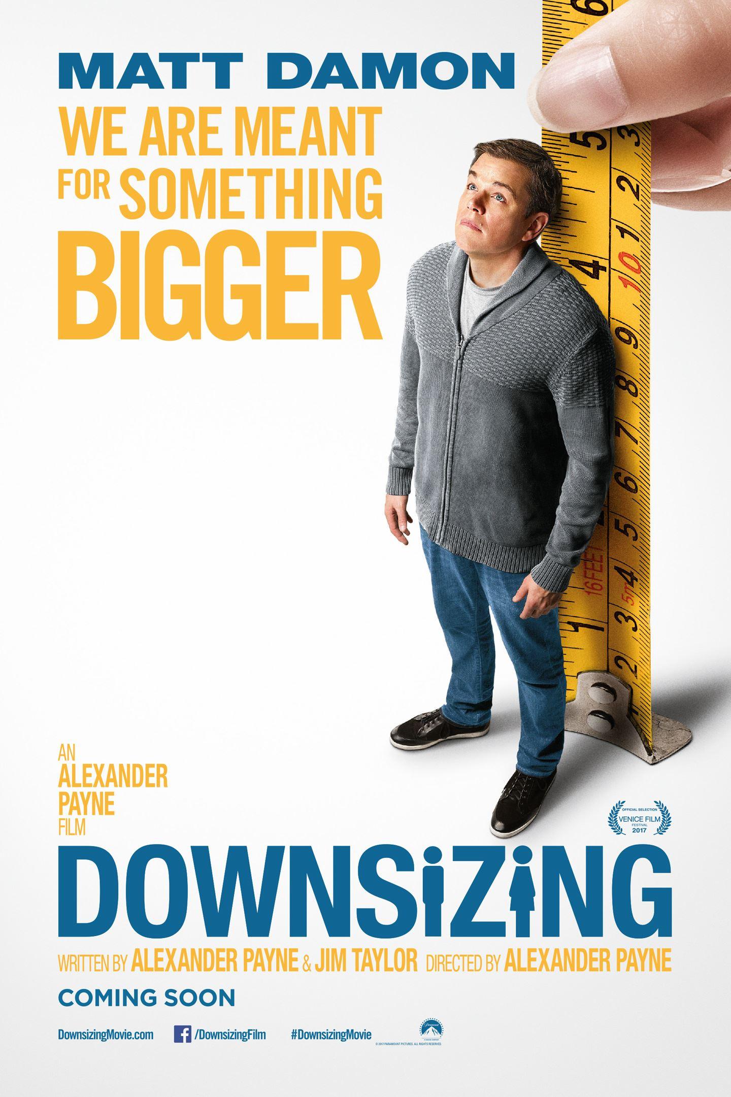 Bio: Downsizing