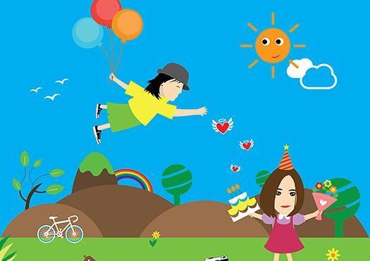 Children's day at Mariehamn