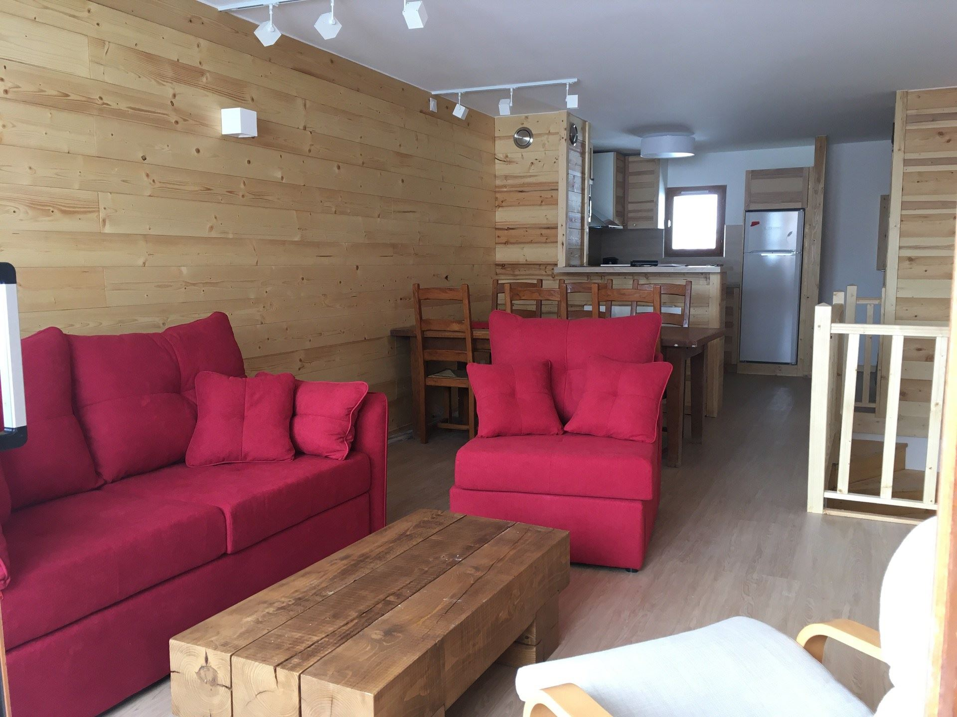 3 Rooms 4 Pers ski-in ski-out / CHARMETTE 1