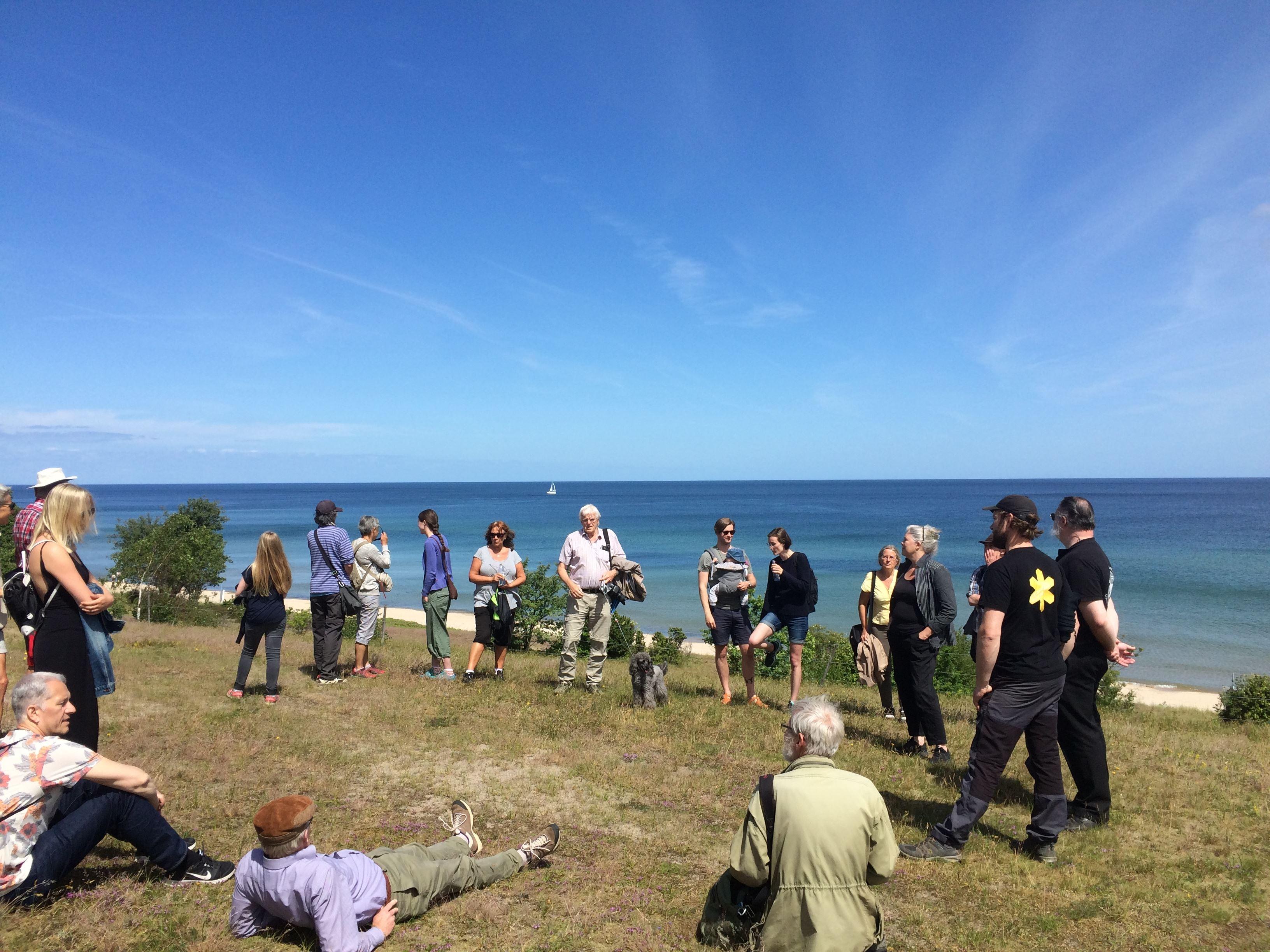 Natur- och Kulturvandring på Stenshuvud