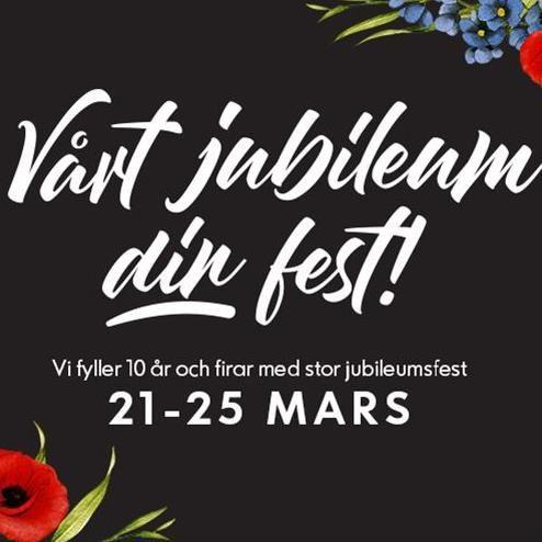 Jubileumsfest Birsta City