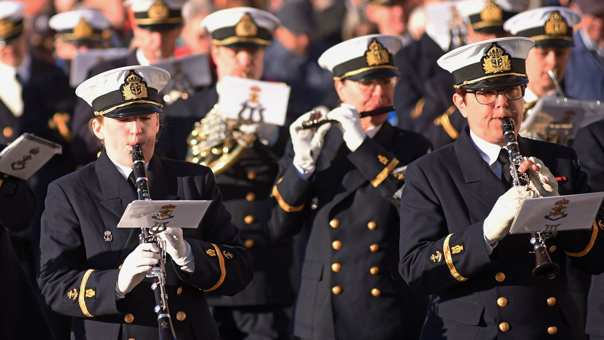 Marchconcert with the Swedish Royal Naval Band