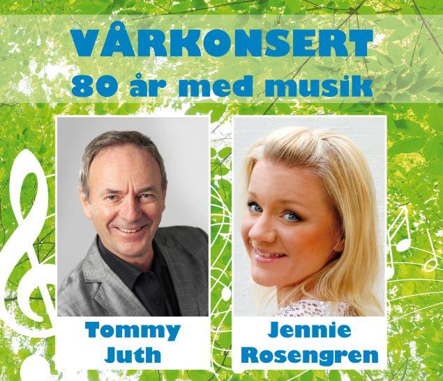 Vårkonsert - 80 år med musik